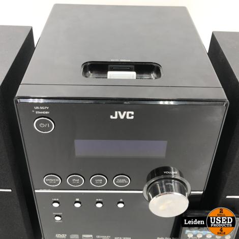 JVC UX-SG7VB Mini Audiosysteem
