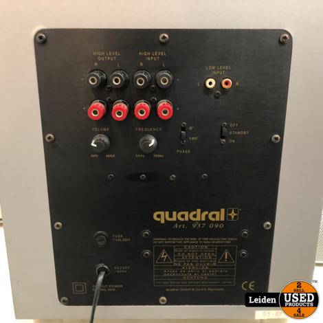 Quadral Chromium VV Set Surround Systeem