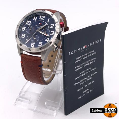 Tommy Hilfiger TH1791066 horloge heren - bruin - edelstaal