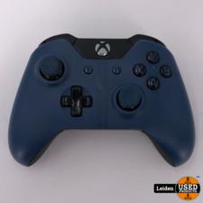 Microsoft Xbox One Controller - Zwart/Blauw