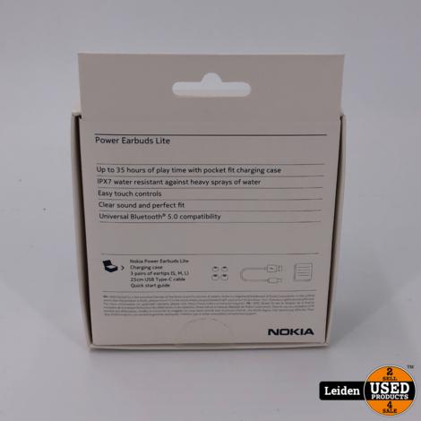Nokia Power Earbuds Lite BH-405 - Zwart