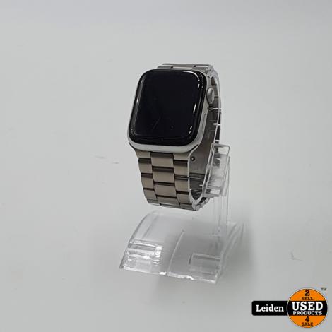 Apple Watch Series 4 - 44M - Zilver