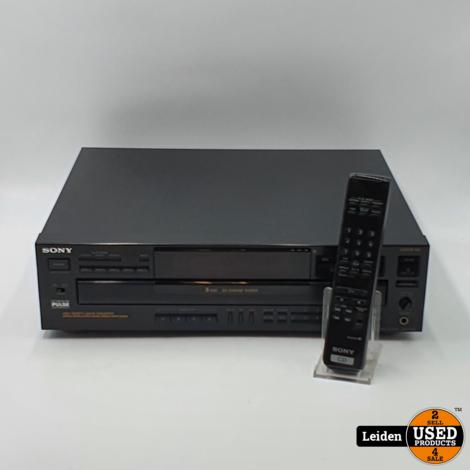 Sony CDP-C545 5 CD-wisselaar