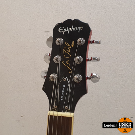 Epiphone Les Paul Gibson Standard - Incl. Hardcase