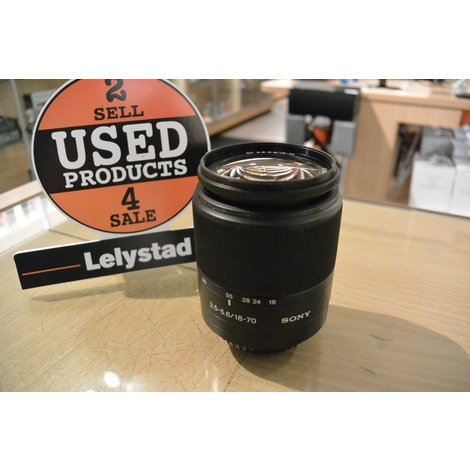Sony 18-70 DT 3.5-5.6 Macro Lens   in Nette Staat