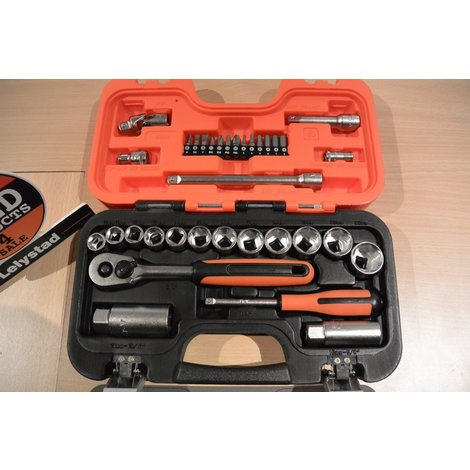Bahco S330 1/4 & 1/8 Dopsleutel Set 34-Delig | Nieuw in Koffer