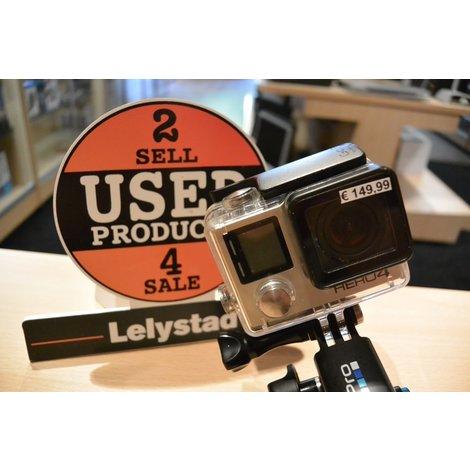 GoPro Hero 4 Silver Incl. Houder | Nette staat met garantie