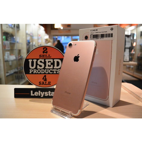 iPhone 7 128GB Rose Gold Nette staat