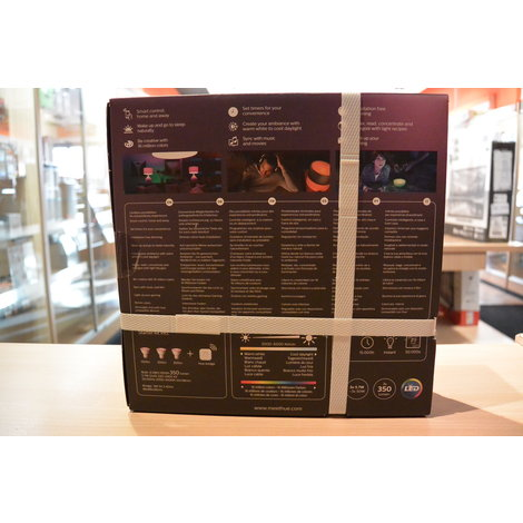 Philips Hue White and Color Ambiance Stater Kit GU10