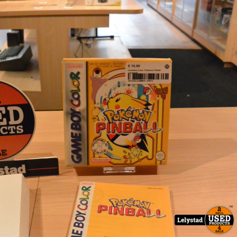 Gameboy Color: Pokemon Pinball Compleet!