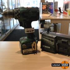 Hitatchi DS14DSL Accu Schroefboormachine