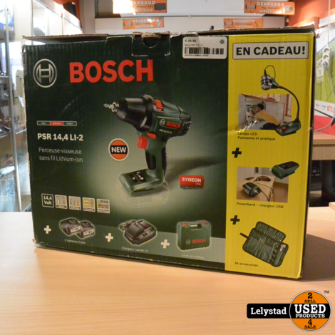 Bosch PSR 14,4 Li-2 Accuboormaschine Nieuw uit doos