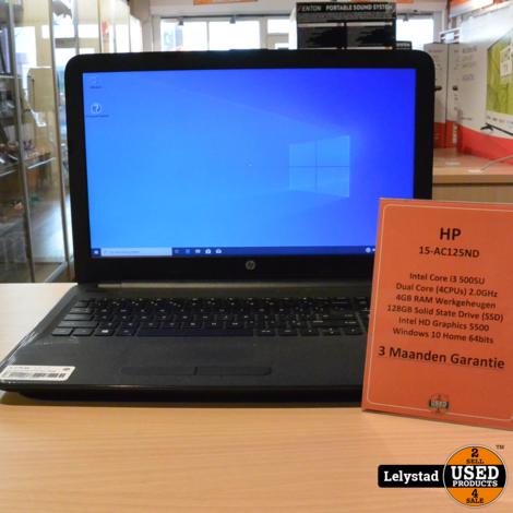 HP 15-AC125ND i3 5Th Gen 128GB SSD Win 10