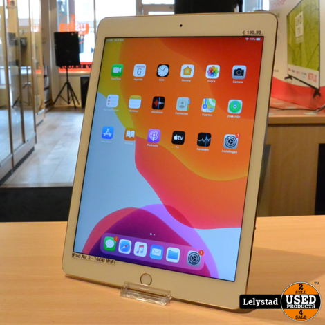 iPad Air 2 16GB WiFi Gold Nette staat