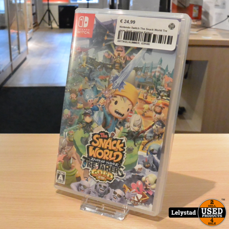 Nintendo Switch The Snack World Tre Jares Gold Japanse Edition