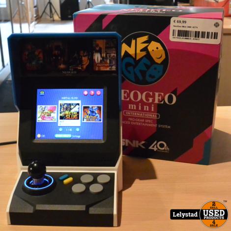 NeoGeo Mini SNK 40TH incl 40 Games