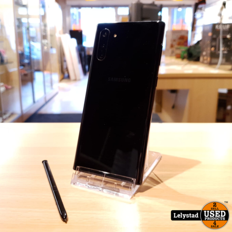 Samsung Galaxy Note 10 256GB Aura Black Duos   Nette staat