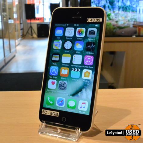 iPhone 5C Wit 8GB | Redelijke staat