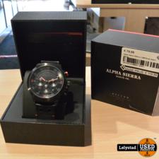 Alpha Sierra Defcon LGM Rood zwart | Nieuw