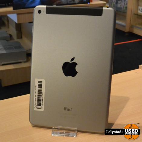 iPad Mini 4 64GB Wifi + 4G   In Nette Staat