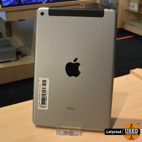 iPad Mini 4 64GB Wifi + 4G | In Nette Staat