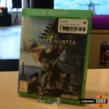 Xbox One Game: Monster Hunter World