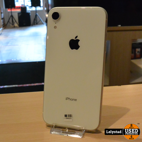 iPhone XR 128GB White | Nette staat