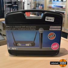 Vonyx WM511 micro VHF 1Ch handheld disp | Nieuw