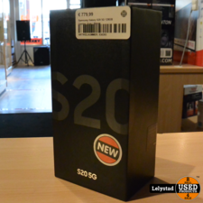 Samsung Galaxy S20 5G 128GB Cosmic Gray | Nieuw