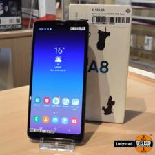 Samsung Galaxy A8 2018 32GB Zwart | Redelijke staat