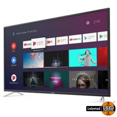 Sharp 55BL2 55inch 4K Ultra HD Android SmartTV | Nieuw