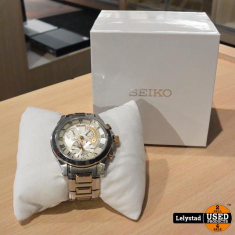 Seiko Premier Kinetic Chronograph 7l22 Automaat Horloge