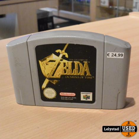 Nintendo 64 Game: The legend of zelda ocarina of time ( Losse Cassette)