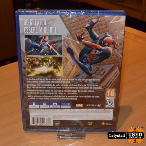 PlayStation 4 Game: Marvel Spiderman | Nieuw in Seal