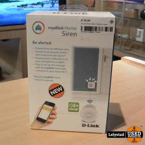 D-Link Home Siren   Nieuw in doos