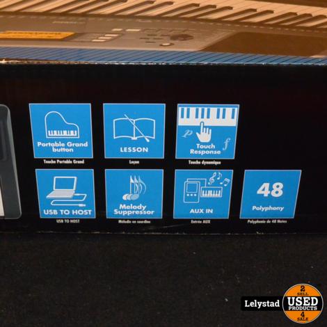 Yamaha PSR-E363 Keyboard 61 Toetsen | Nieuw