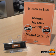 Memca USB Stick 128GB | Nieuw in Seal