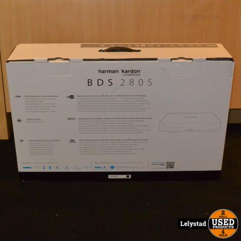 Harman Kardon BDS 280S Receiver/Versterker Zilver   Nieuw