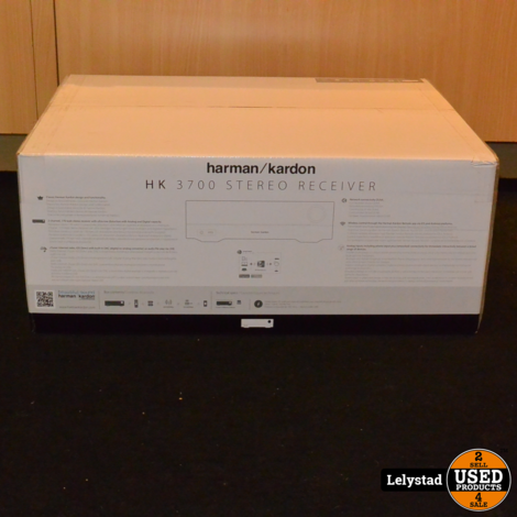 Harman Kardon HK 3700 Versterker Zwart   Nieuw in doos