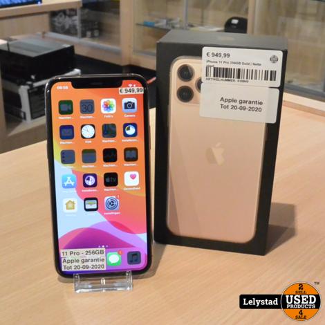 iPhone 11 Pro 256GB Gold | Prima staat