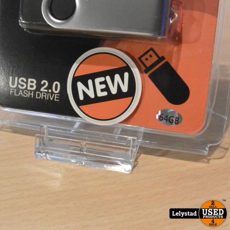Usb Stick 2.0 Flash Drive 64GB | Nieuw in de verpakking