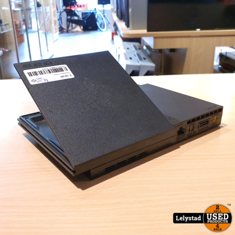 Playstation 2 Slim Zwart met 3 controllers & 2x 8MB opslag