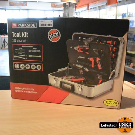 Parkside Tool Kit 101 Piece Set | Nieuw in doos