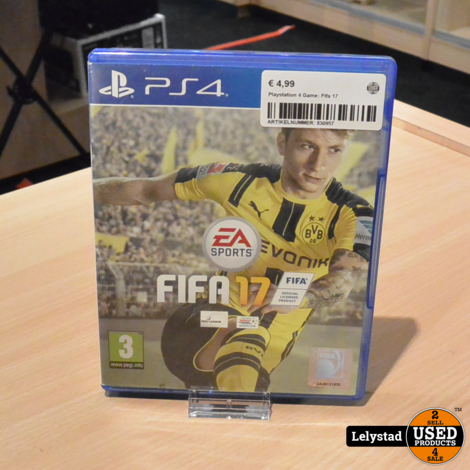 Playstation 4 Game: Fifa 17