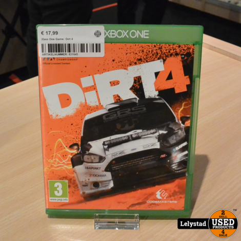 Xbox One Game: Dirt 4