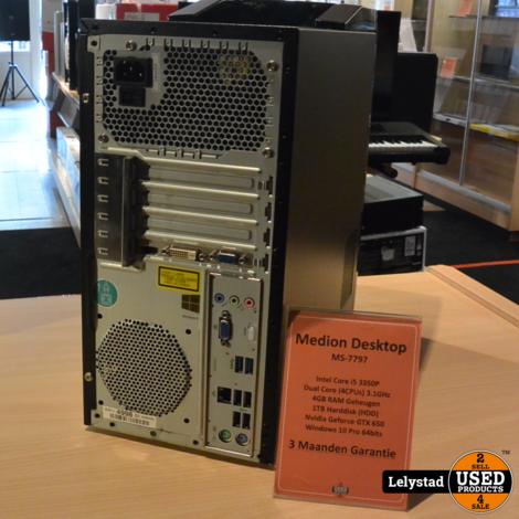 Medion Desktop MS-7797 i5 4GB/1TB HDD Win 10 Pro