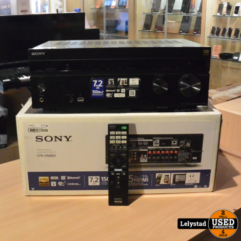 Sony STRDN860 Receiver 7.2ch 150W HDMI 5IN 1 FRONT/1OUT AV RE