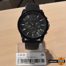 Armani AX1326 Horloge Zwart | Redelijke staat