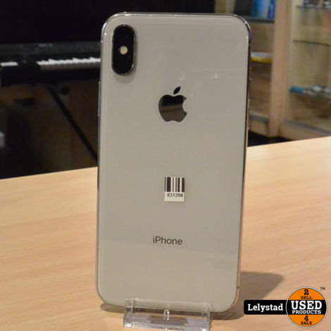 iPhone X 64GB Silver | Nette staat