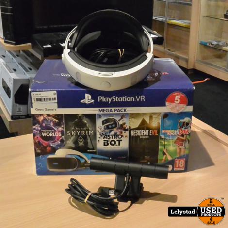 Playstation VR Mega Pack 2   Nieuwstaat + Bon